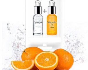 Rechiol โครงสร้าง — Vitamin C และ Collagen